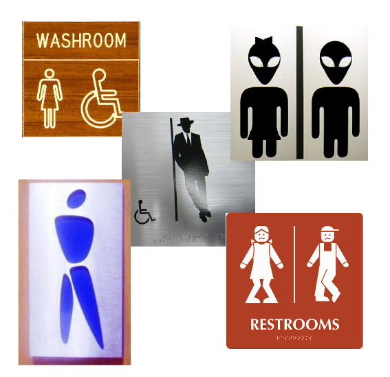 Just Bathroom Signs signcollection blog - when bathroom signs become more than just signs