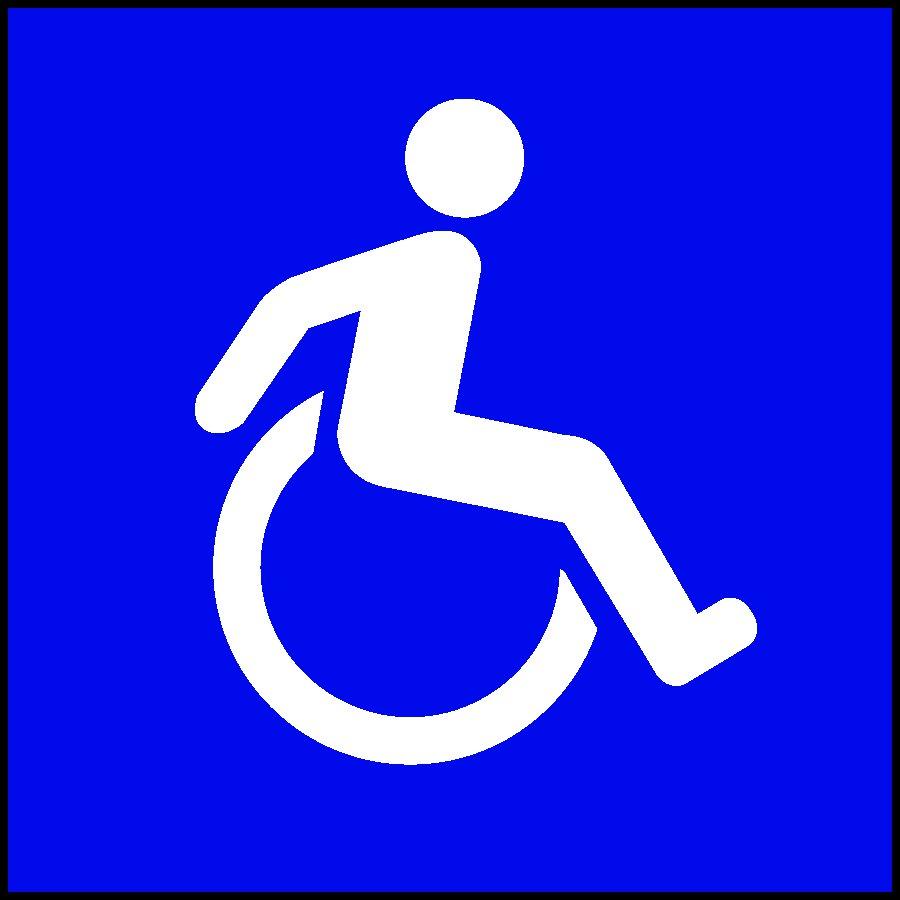 new handicap sign pictogram - Handicap Bathroom Signs