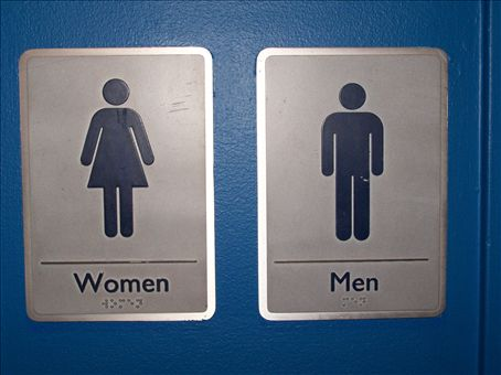 Interior Bathroom Signs