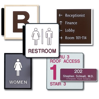 Interior and Exterior Signs